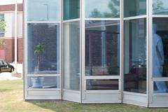 outdoor structure(0.0), sash window(0.0), porch(0.0), window covering(0.0), window(1.0), window screen(1.0), orangery(1.0), glass(1.0), door(1.0), facade(1.0),