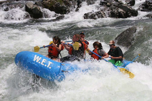 whitewater rafting in california
