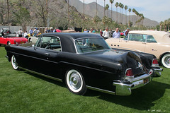 full-size car(0.0), studebaker silver hawk(0.0), mercedes-benz w111(0.0), convertible(0.0), automobile(1.0), automotive exterior(1.0), lincoln motor company(1.0), vehicle(1.0), lincoln continental mark v(1.0), lincoln continental(1.0), antique car(1.0), sedan(1.0), classic car(1.0), land vehicle(1.0), luxury vehicle(1.0),