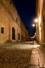 knight's road at night
