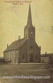Evangelical Lutheran Church circa 1910