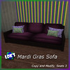 Mardi Gras Sofa World Tour 2014 Hunt