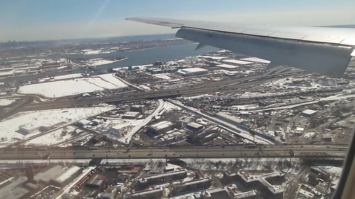 United Airlines - N662UA - Approach into Newark Liberty International (KEWR/EWR) - New Jersey, USA