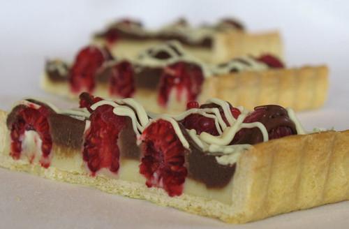 double chocolate raspberry tart 2890 | Flickr - Photo Sharing!