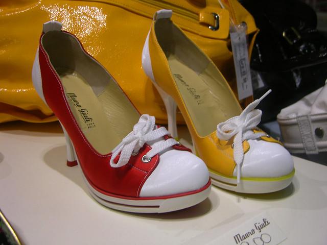 mauro giuli high heel tennis shoes flickr photo