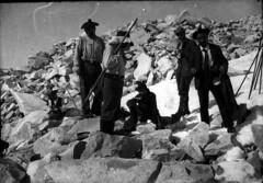 Moraine du Néthou, ascension Béraldi : Béraldi père et fils, Vives, Spont, Jean Angusto