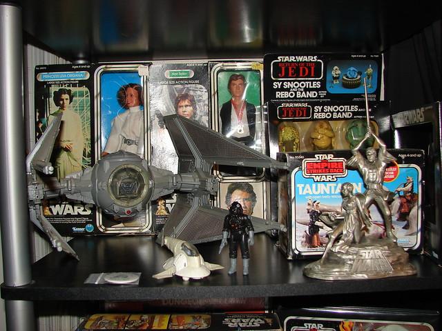 Star Wars Vintage Kenner 1977 1984 Toys Tie Interceptor