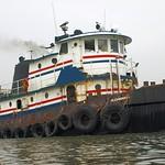 BUCHANAN 10 Tugboat, Hutchinson River, Bronx NYC