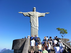 Hymn in front of the Statue of Jesus Christ, the Biggest Virtual Art Model of the World - Things to do in Rio de Janeiro