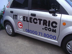 it is electric
