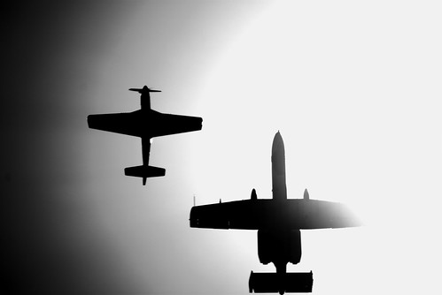 Heritage Flight B&W