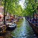 Amsterdam, Holland 076 - Spring at the canal