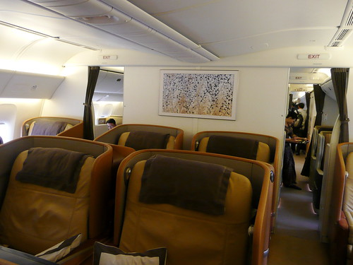 Singapore Airlines First Class (777-300ER)