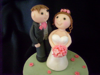 Marzipan Bride & Groom