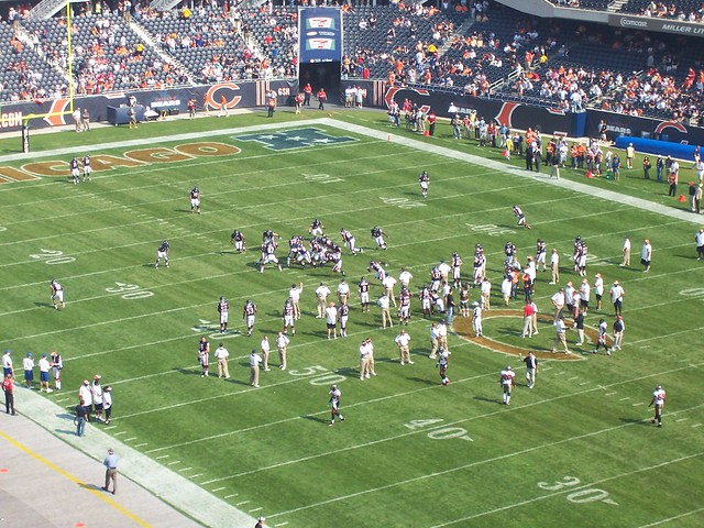Chicago Bears Tampa Bay Buccaneers NFL Football Game
