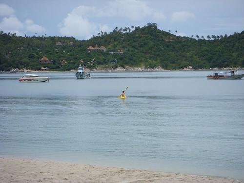 Marc kayaks