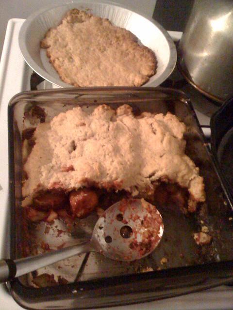 Meatless meat pie