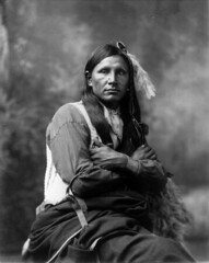 Ground Spider, Oglala Sioux, by Heyn Photo, 1899
