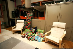apparently santa came early and left all this stuff …
