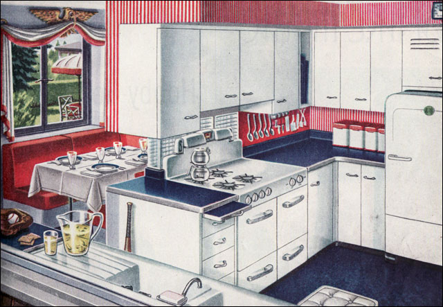 1947 Americana Kitchen