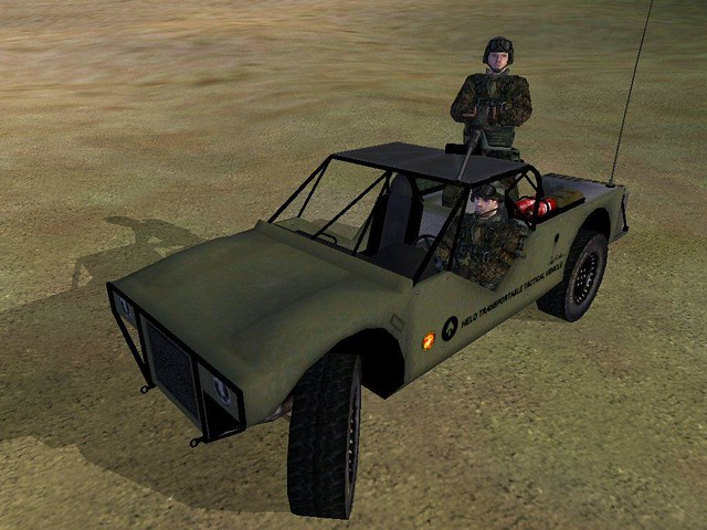 Operation Flashpoint mod - 'HELO Transportable Tactical Vehicle'