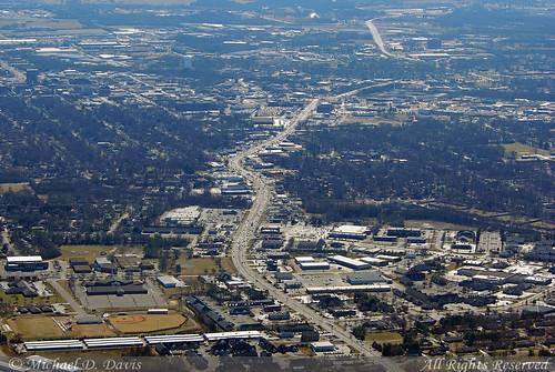 Murfreesboro, Tennessee Aerial