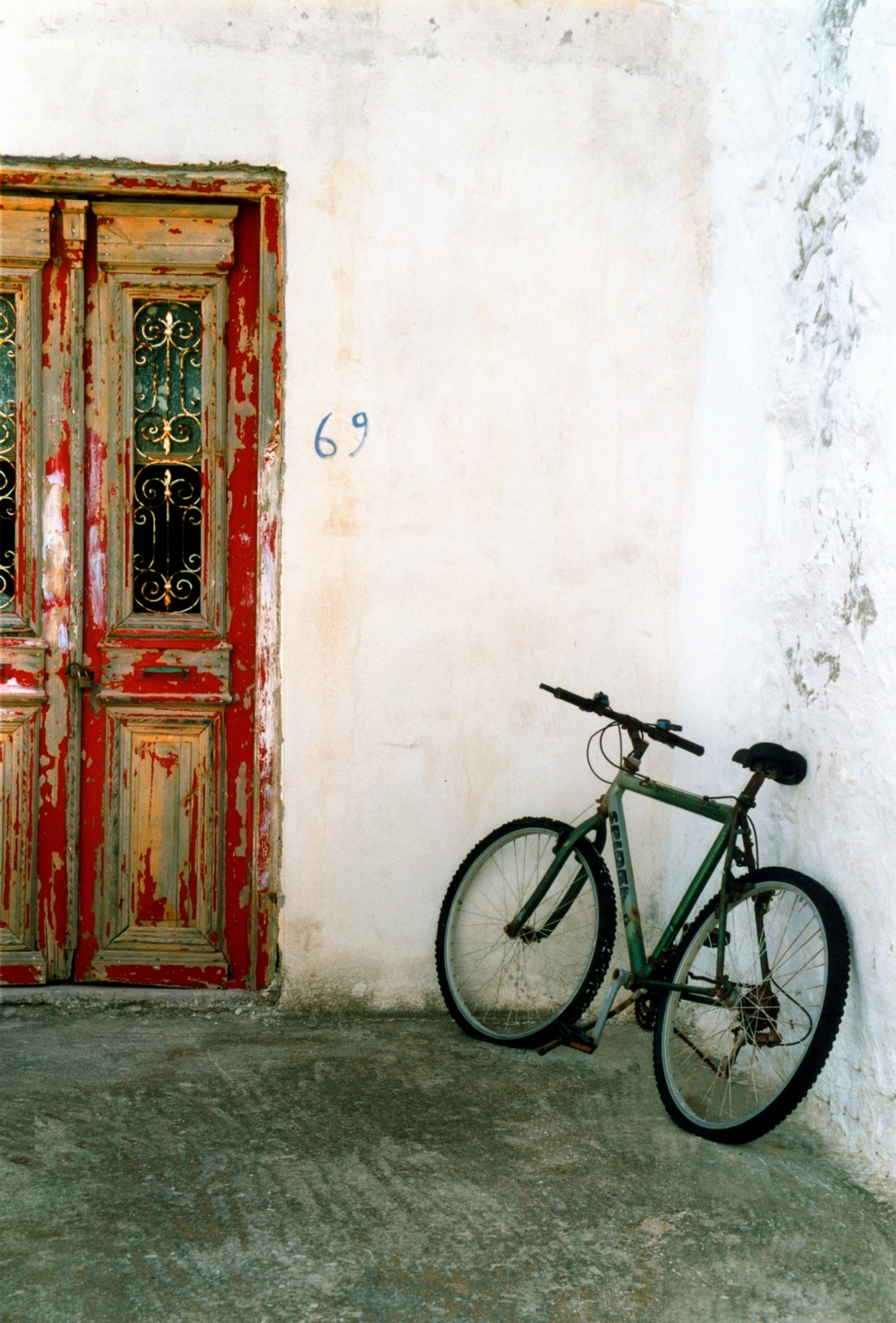 Facade and bike