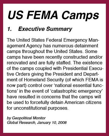 FEMA camps