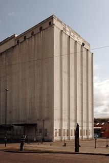 Spillers Flour Mill Before Demolition 2011