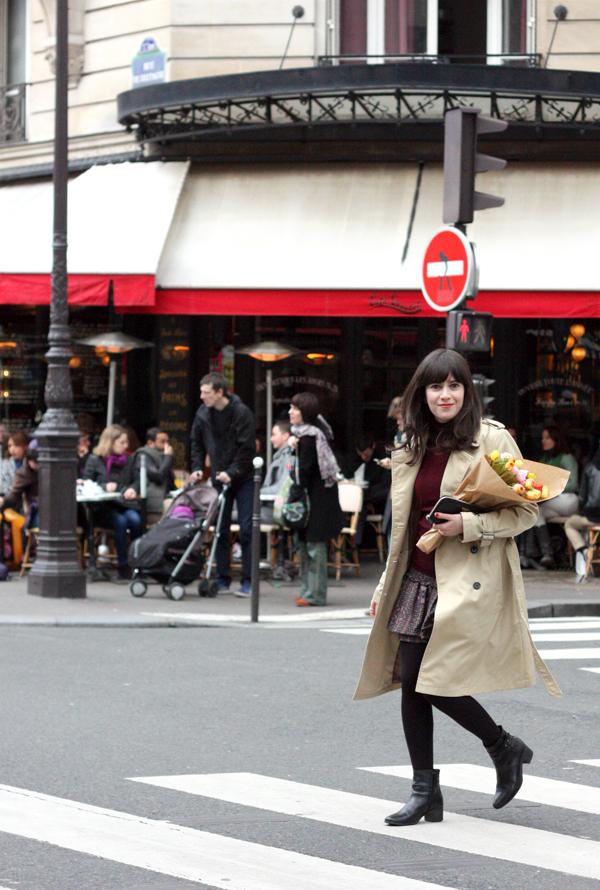 פריז, פרחים, טיול בפריז, בלוג אופנה