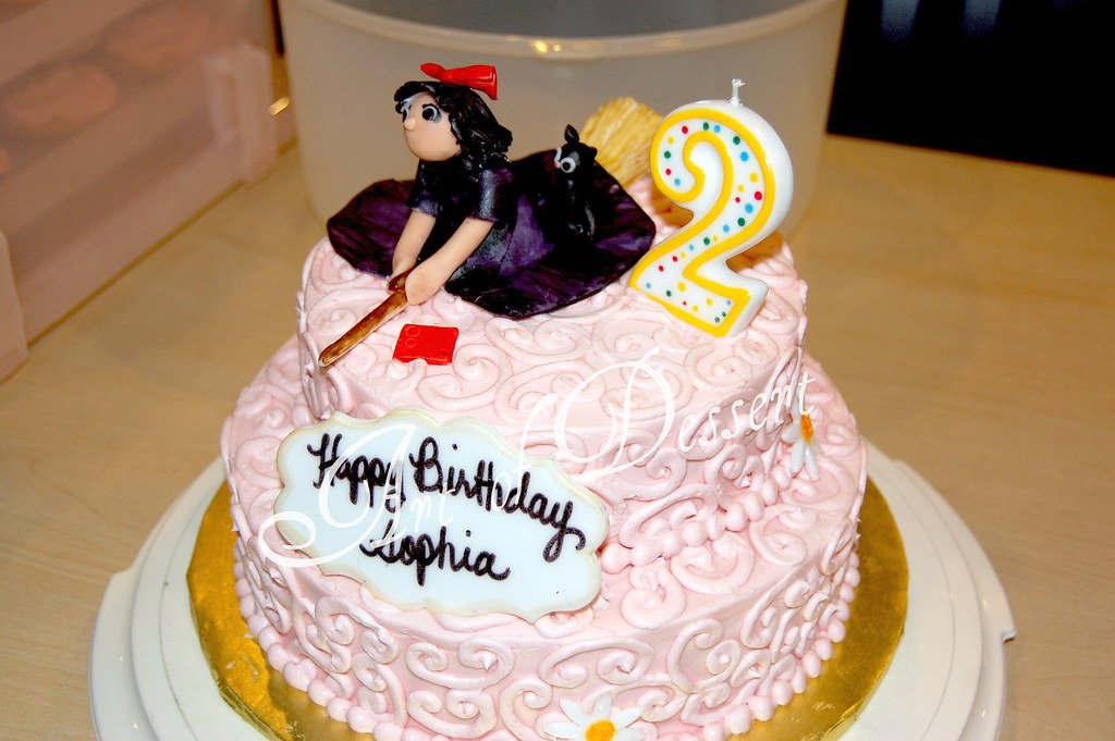 Sophias 2nd Birthday Cake