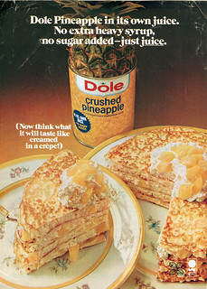 "Dole Crushed Pineapple :: "" .. in it's own juice..""  (( 197x ))"