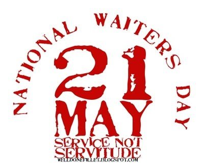 It's National Waiters Day! - Waiter Rant