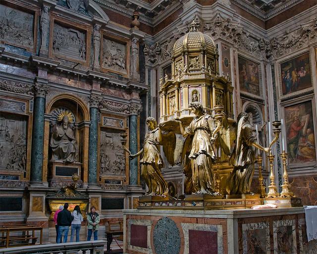 Santa Maria Maggiore Cappella Sistina Explore Dmitry