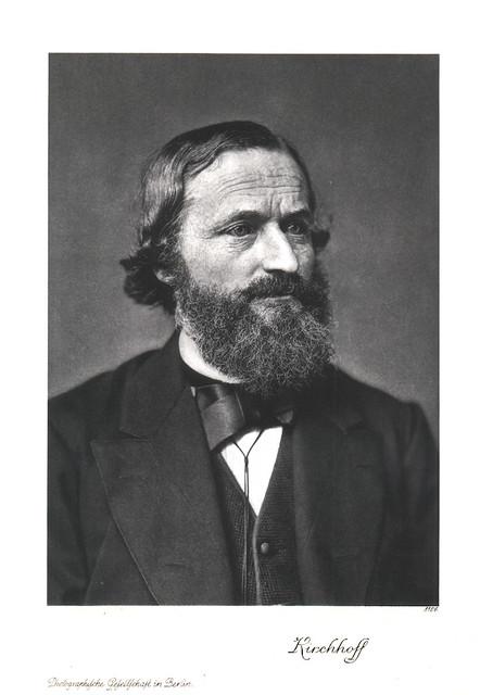 Portrait of Gustav Kirchhoff (1824-1887), Physicist