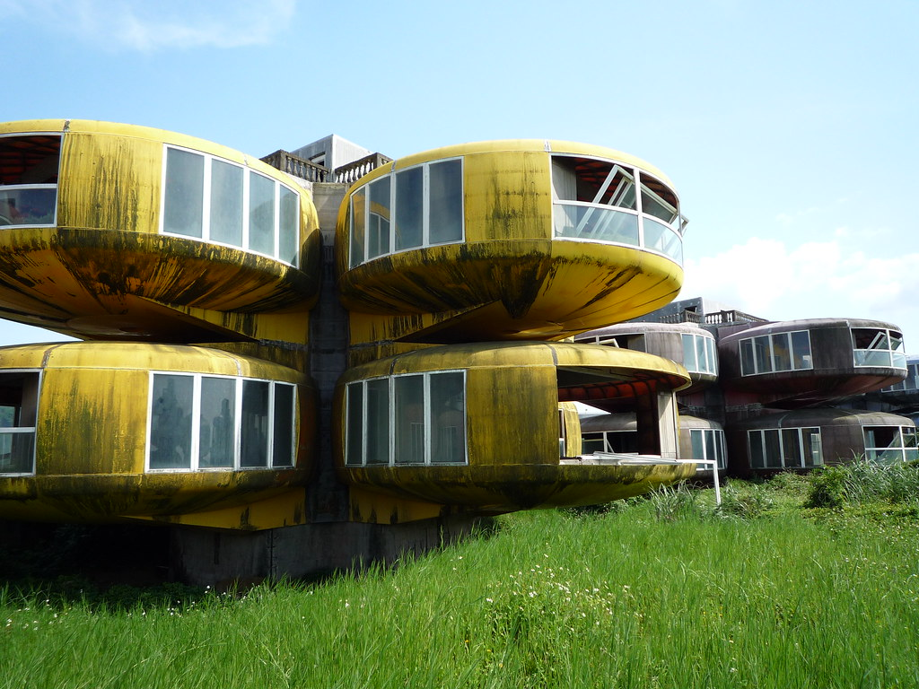 UFO Houses at Sanjhih