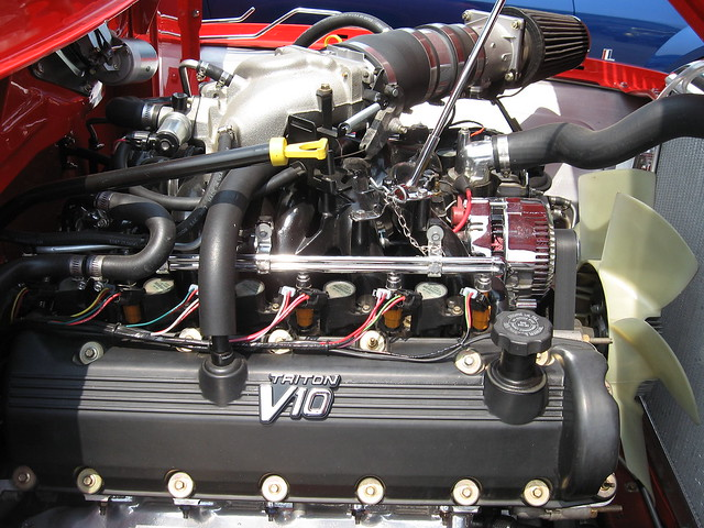 is the ford triton v10 a good engine flush