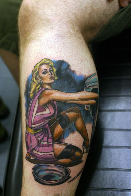 Pin-Up-Tattoo