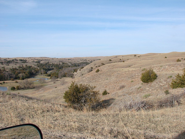 Nebraska Sandhills landscape March