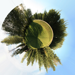 Little Planet No 1 - Front Yard