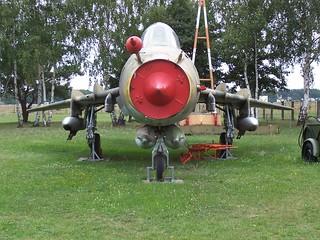 Front: Suchoi Su-22UM3K