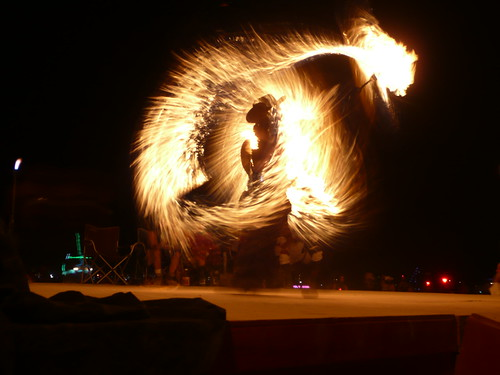 BURNING MAN BULL