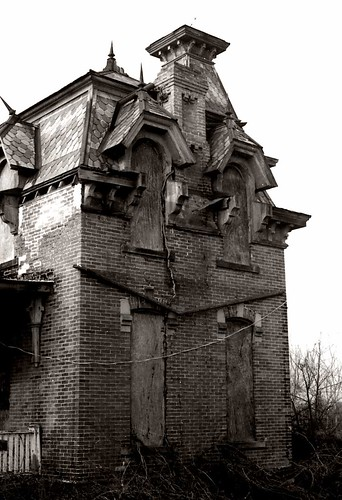 ohio house brick abandoned farmhouse decay victorian spooky ruraldecay decayed