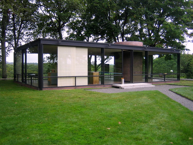 philip johnson 39 s glass house new canaan ct flickr photo sharing. Black Bedroom Furniture Sets. Home Design Ideas