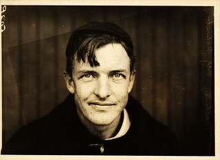 Christy Mathewson, pitcher, New York Giants, by Paul Thompson, 1910