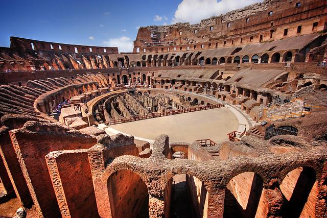Arena - Rome Colosseoum