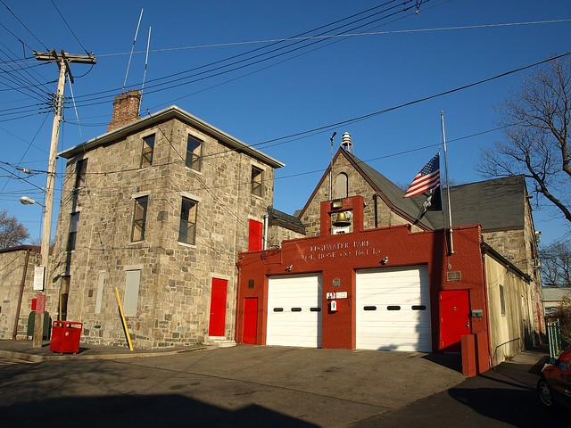 Edgewater Park Volunteer Fire Department Firehouse Bronx