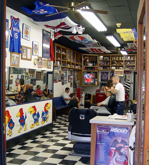 Barber Shop Lawrence Ks : Lawrence KS - A Barber Shop in a University Town (1 of 3) Flickr ...