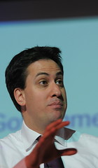 Ed Miliband: indecisive over public sector strikes.  Image from the CBI's photostream