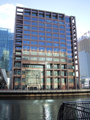 Morgan Stanley Building, Canary Wharf, London.